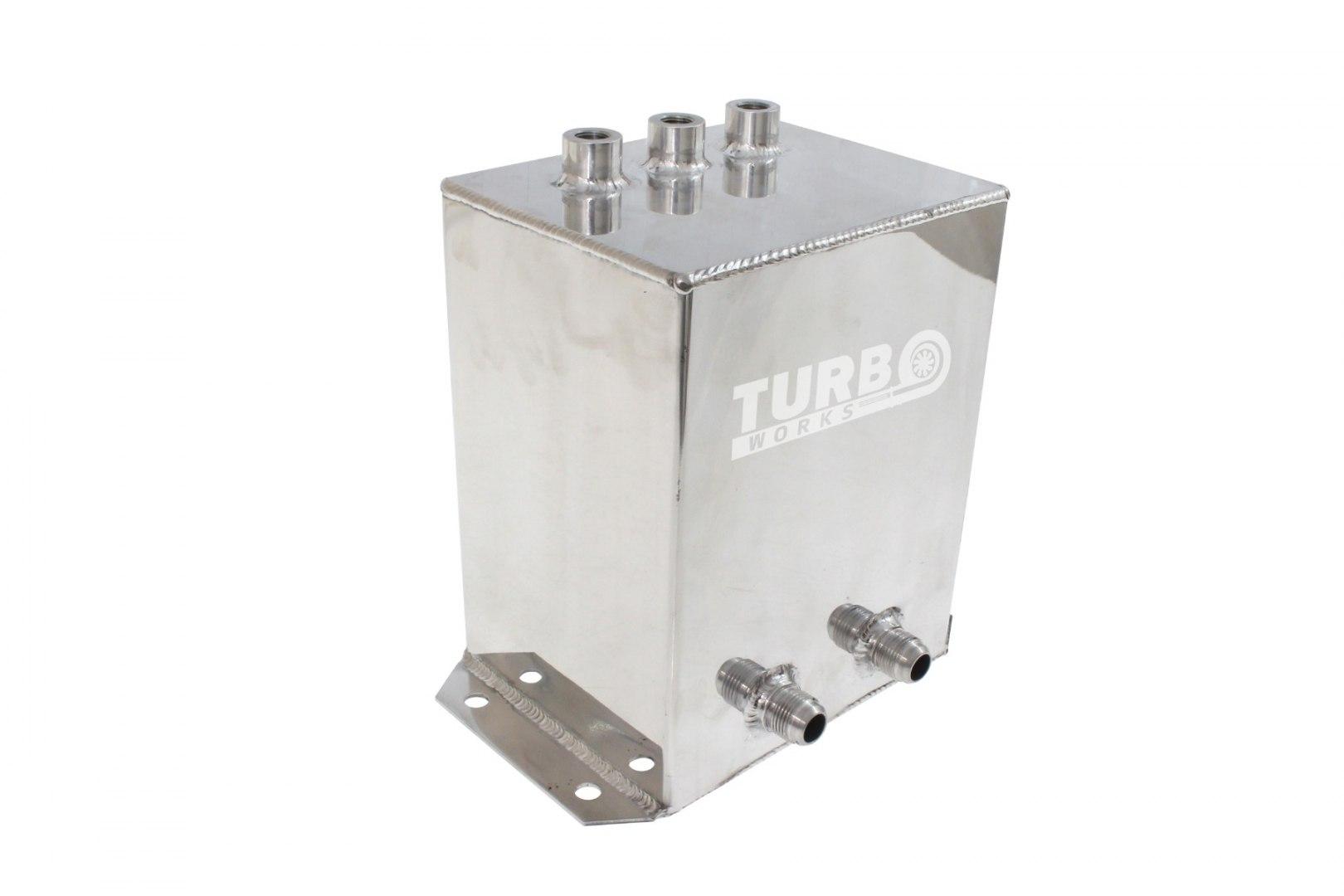 Zbiornik paliwa dodatkowy 5L z przyłączami AN10 - GRUBYGARAGE - Sklep Tuningowy